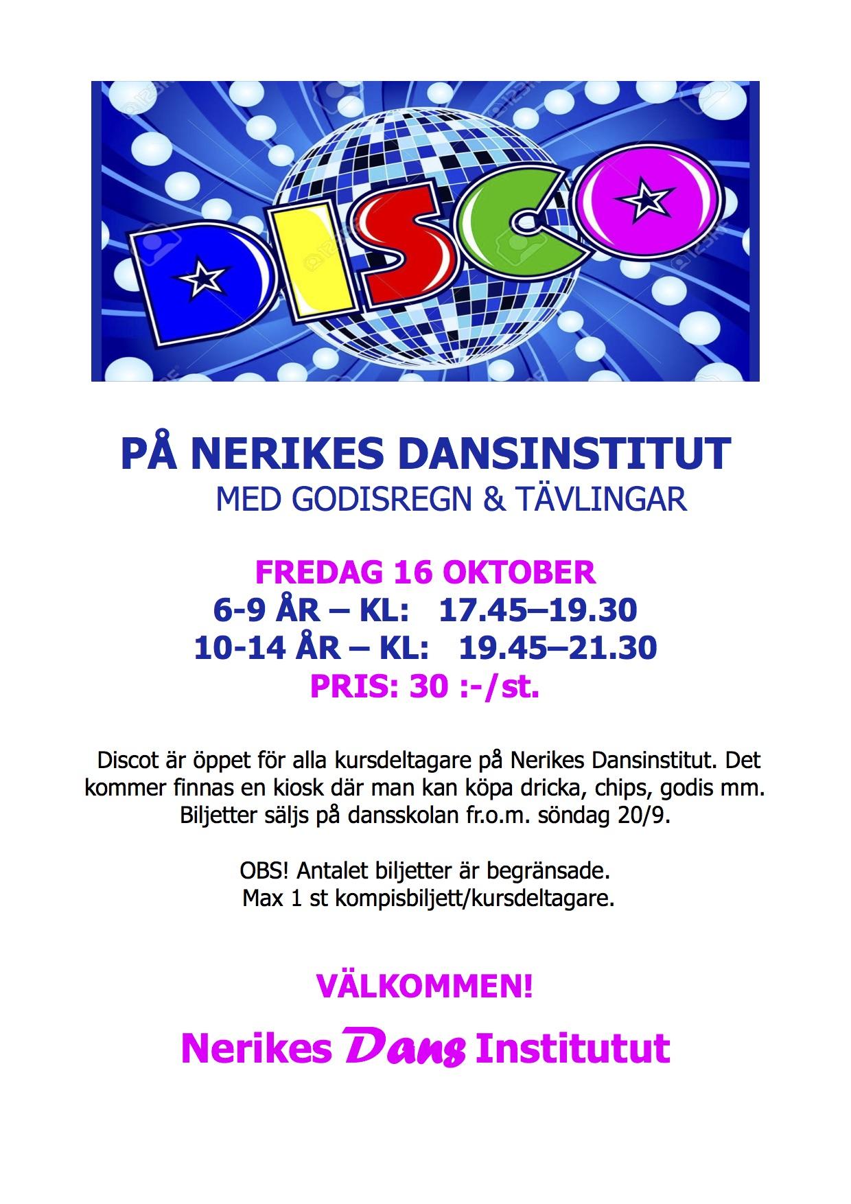 disco affisch ND HT15